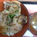 おむすび きゅうさん - 庄内豚丼 税込730円