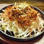 串猿 - もやしの肉味噌がけ