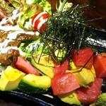 串猿 - アボカドとマグロのわさび醤油