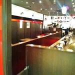 九州麺 本格餃子 清正 - カウンター席はもちろん、テーブル席もご用意しております。 ご家族やグループでのご来店も大歓迎です♪
