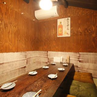 【人気に付きお早目のご予約を】完全個室の~8名様のお席もございます