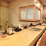 宮川本廛 - 店内のカウンター席の風景です