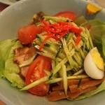 中華園 - 暑い日は「五目冷麺」