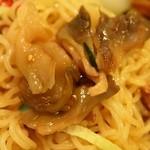 中華園 - 五目冷麺 ザーサイ