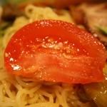 中華園 - 五目冷麺 トマト