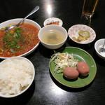 座・麻婆唐府 - 麻婆春雨ランチ(780円)