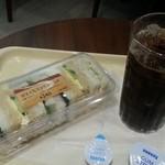 ドトールコーヒーショップ - アイスコーヒーS(200円)