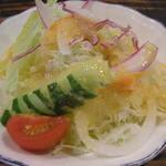 ポッケ - サラダ(多分ハンバーグに付属)