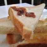 ニコ - アンチョビバター トースト