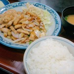 食事処 葵 - 豚ロース生姜焼き