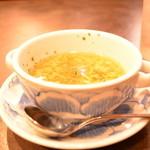 神戸元町ドリア - セットのスープ