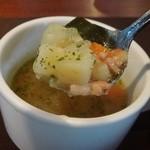 ガット ソリアーノ - 野菜たっぷりスープ
