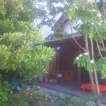 まちの駅 思季彩館 - 裏庭です