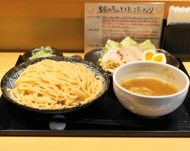 つけ麺 道 - 2013.5 特製つけ麺(950円)+中盛券(50円)