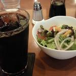 カフェ アラビカ - サラダアイスコーヒー