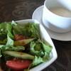 プランドル - 料理写真:ランチのサラダとスープ