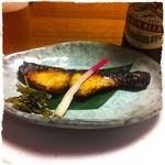 蛇の目寿司 - 【2013年5月24日】鰆の漬け焼き (^^)