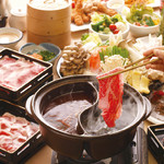 もうぶうダイニング - 料理写真:牛肉、豚肉、鶏肉が食べ放題♪