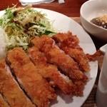 めのか - チキンカツ定食 650円