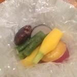 鉄板焼 濠 - 温野菜