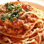 カフェルード - 料理写真:パスタもトマトソースやカルボナーラ、ペペロンチーノなど数種類ご用意してます。