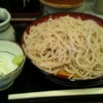 小諸そば  - 二枚盛り(290円)