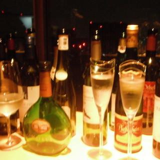 世界各国のワインをお楽しみください