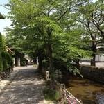 Cafe' O2 - 玉串川沿いのお店*\(^o^)/*