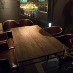 bar defi - テーブル席