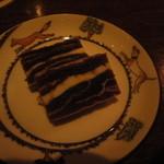 19185625 - 干し柿(市田柿)とバターのミルフィーユ
