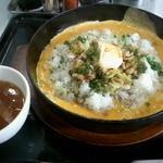 らあめん花月嵐 - 料理写真:鉄板イタめし(ニンニクバター味)