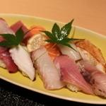 味人膳 - 「にぎり寿司膳」