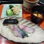 口福よこ山 - 〆鯖の握り寿司(2013年5月下旬訪問)