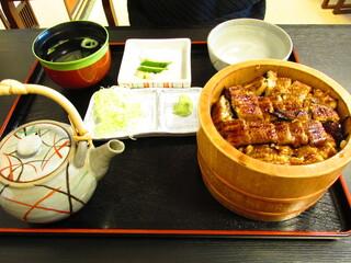 八百徳 本店 - お櫃鰻茶漬け
