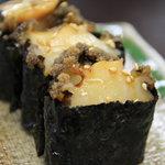 おたる千成 - 煮あわび寿司