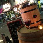 クリスティーズ - 樽ワインはじめました♪厳選された赤ワイン・白ワインをお気が済むまでいかがですか???自分で樽からワインを注げるので飲みすぎにはご注意を・・・