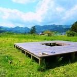 里山カフェ - オープンテラス席