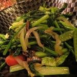 鈴や - 【再訪2】野菜炒め?