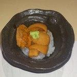 鮨四季の味 しおん - ばふんうにのミニ丼