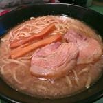 ラーメン107 - 野菜なしラーメン600円