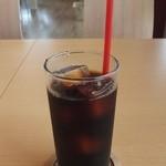 ハノハノ - アイスコーヒー。