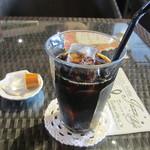 ガーデンヴィラカフェ - 水出しアイスコーヒー