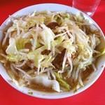 ラーメン二郎 - 小ぶた野菜