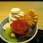 Kikumaru - あんみつベルサイユのばら(850円)