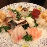 辰巳寿司 - 刺身盛合せ