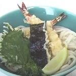 手打ちうどん家 麺八 - 料理写真:えび天ぶっかけ