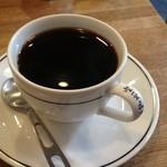 喫茶fe カフェっさ - マフィンサンドセットのブレンドコーヒー