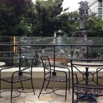 347CAFE&LOUNGE - 宮下公園が見えます