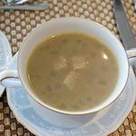 レストラン オーブ - ごぼうのスープ