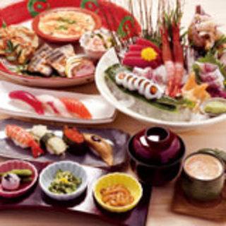 銀座のお寿司で宴会★5000円で飲み放題コース!!
